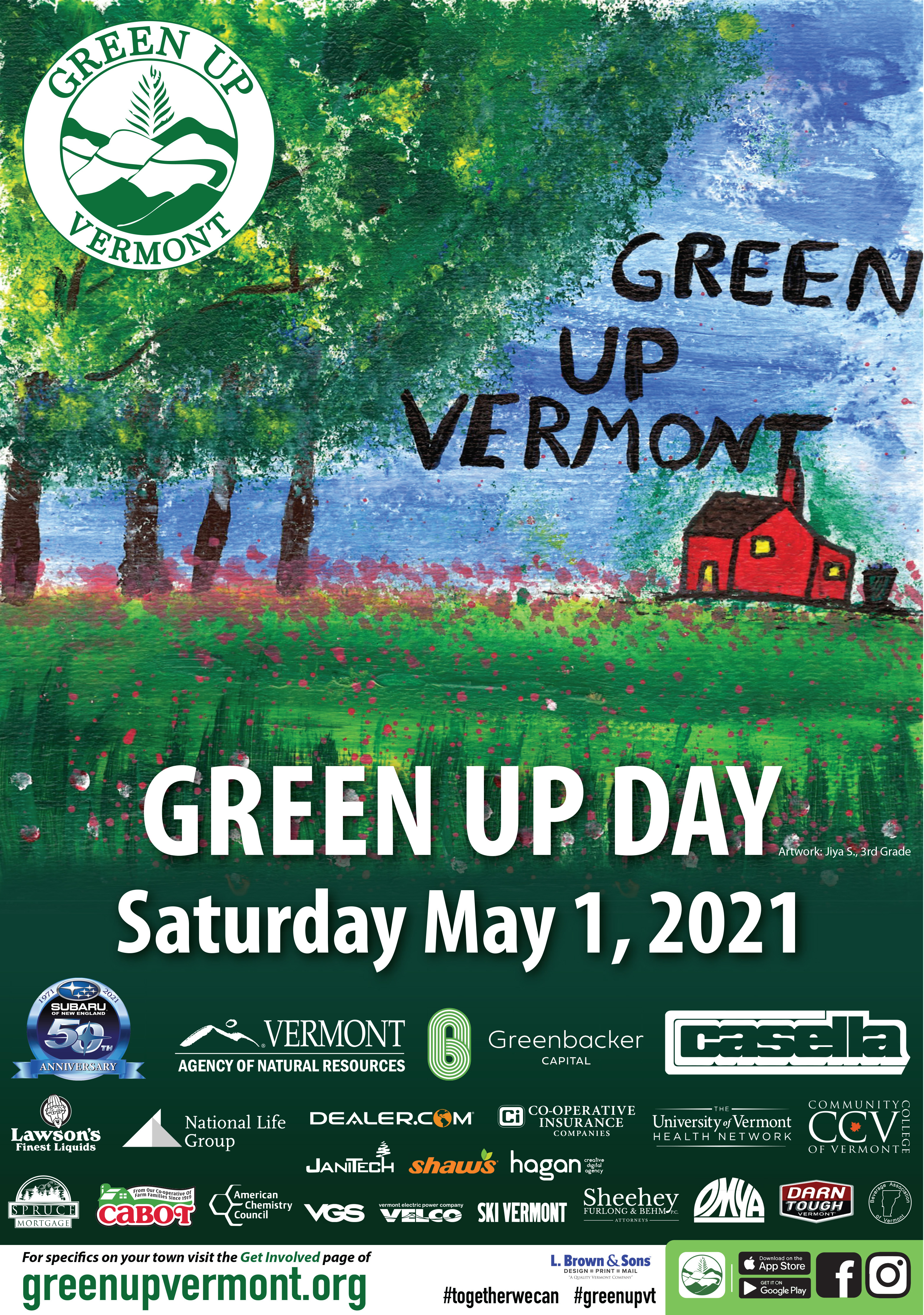 Green Up poster
